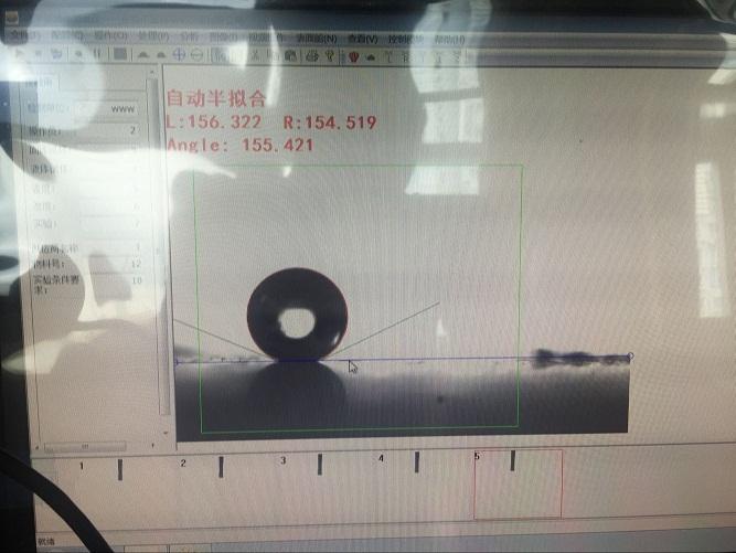 超疏水测试图片